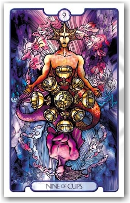 Revelations Tarot _ 9 of Cups Upright