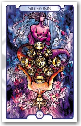 Revelations Tarot _ 9 of Cups Reversed